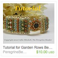 Callie Mitchell's beaded bracelet tutorial on Etsy