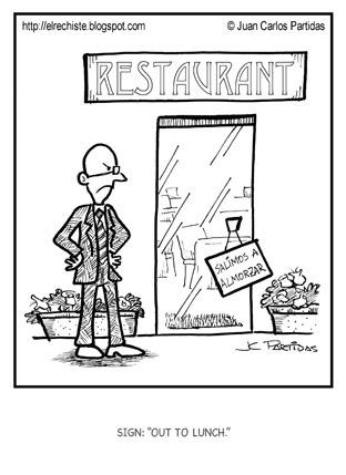 caricatura restaurant