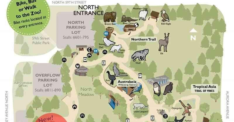 Zoo Tails Woodland Park Zoo Map 2009