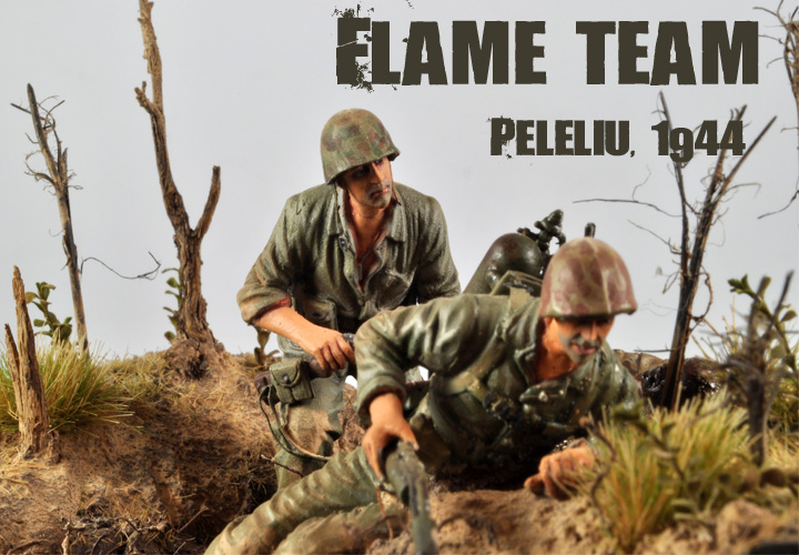 Peleliu Flame Team