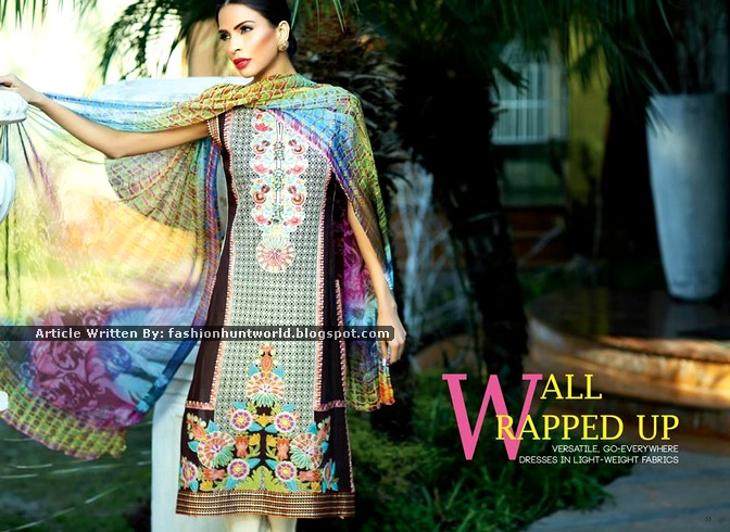 Shaista Cloth Spring / Summer Lawn 2015 Vol-01