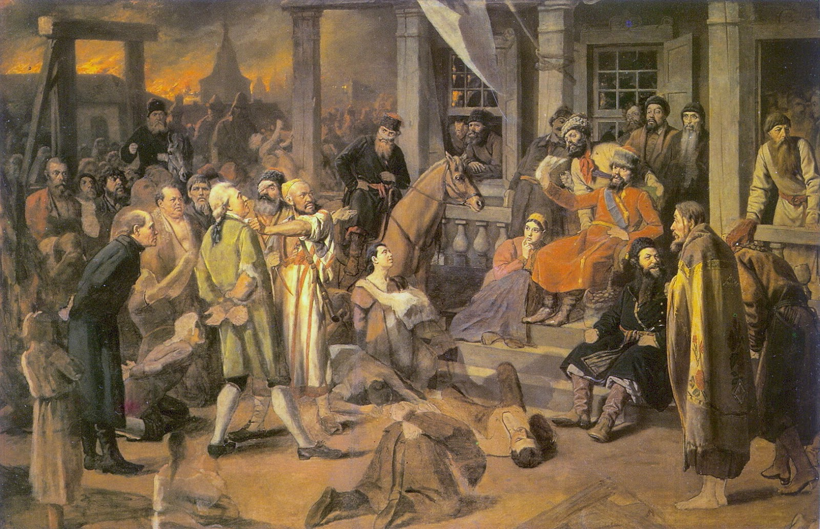 The image of Pugachev in the story The Captains Daughter by Alexander Pushkin
