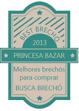 PRINCESA BAZAR GANHOU SELO DE MELHOR BRECHÓ PARA COMPRAR