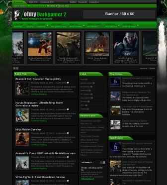 Johny darkgamer template blogger templates 2013 johny darkgamer template pronofoot35fo Images