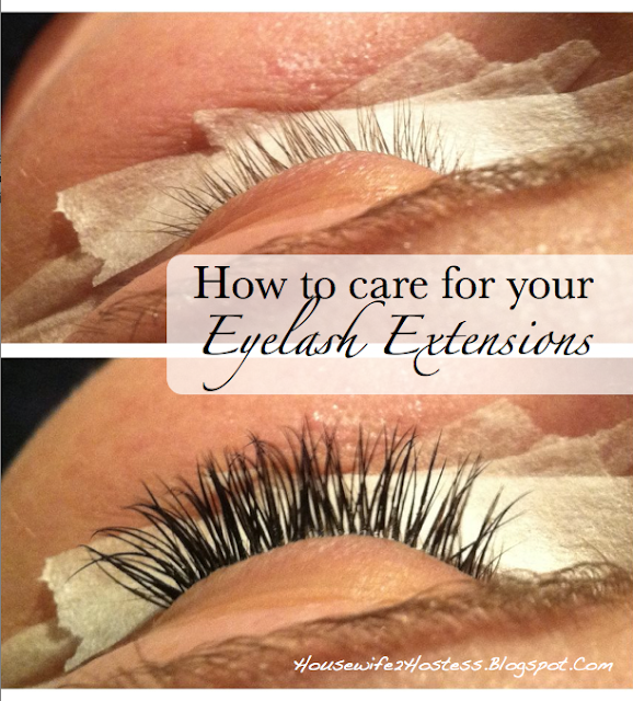 Eyelash Extensions 101 Housewife2hostess