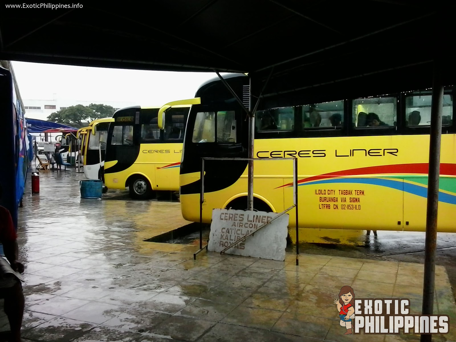 3 Ways on How to Get to Boracay Philippines Ilo-ilo City Bus Terminal