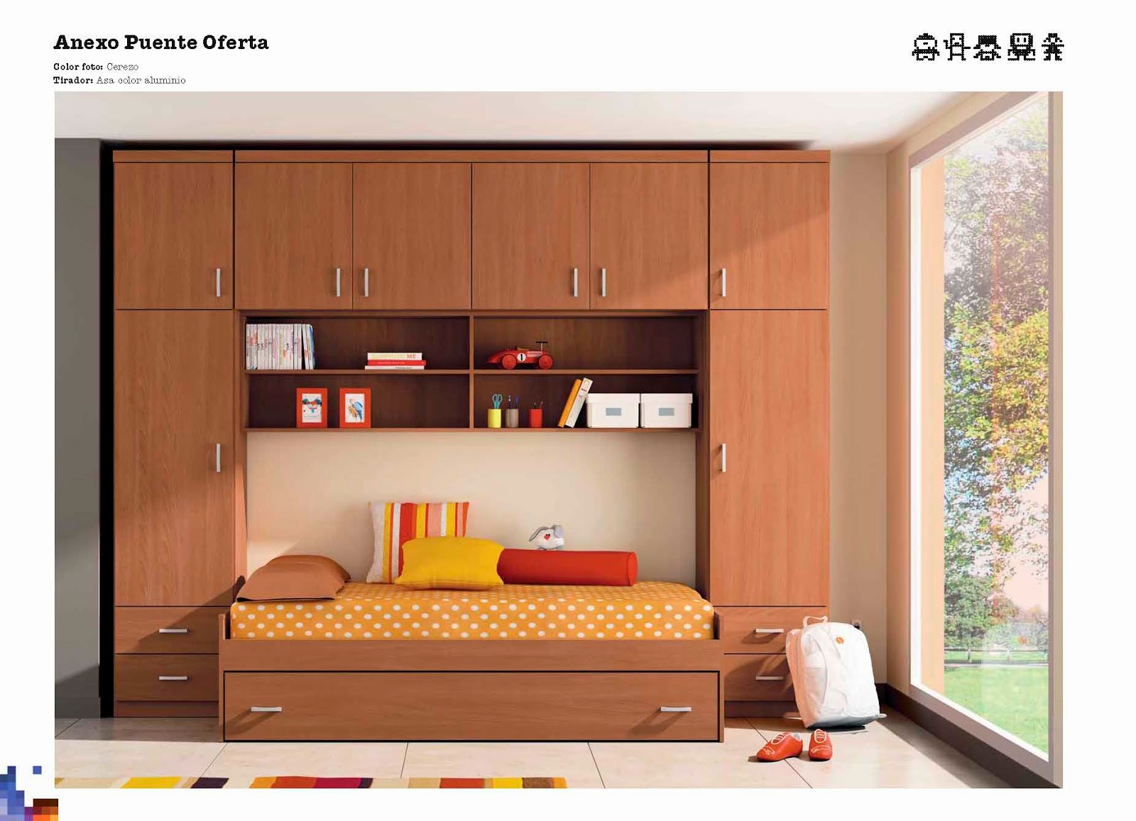 Llar del modul promociones for Dormitorio puente matrimonio