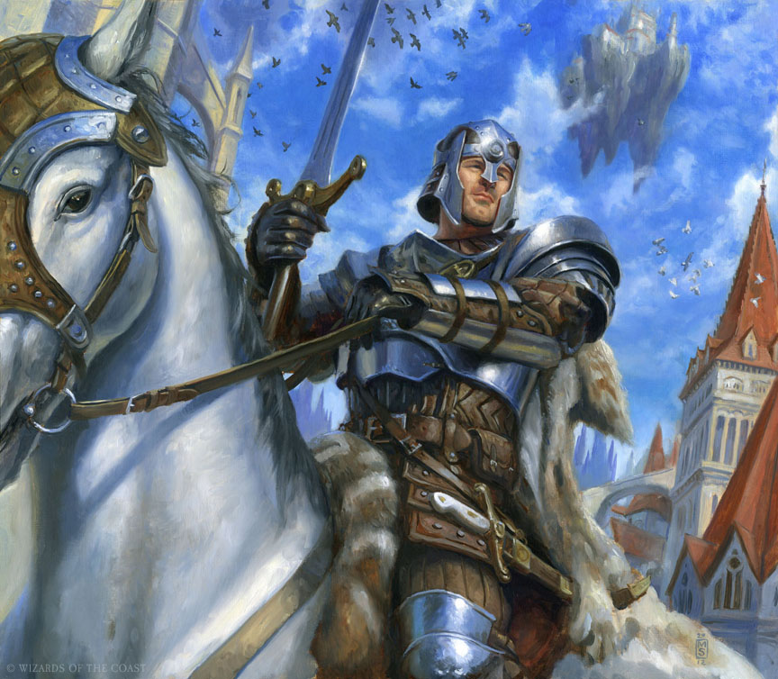 Matthew Stewart Illustration: Knight Token
