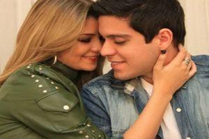 Maria Cecília e Rodolfo abraçados