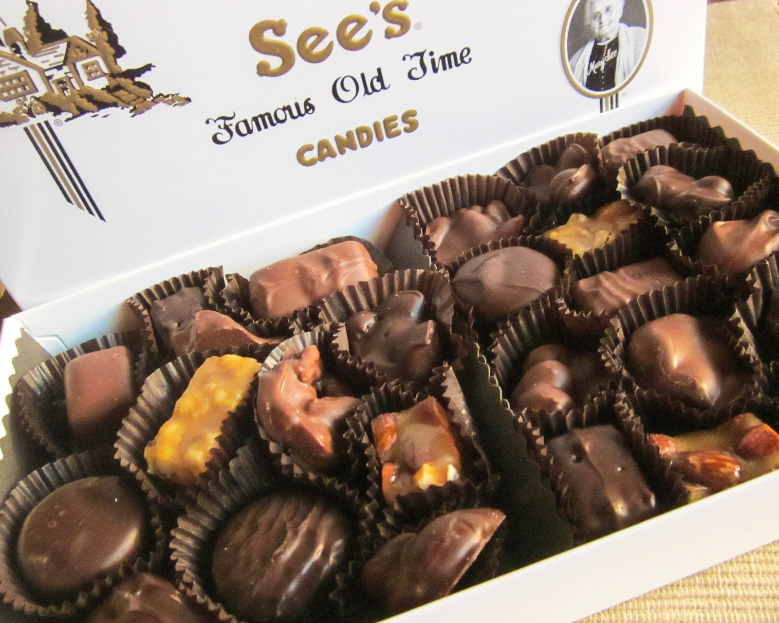 Diddles and Dumplings: See's Candies Review & $25 Gift Card Giveaway