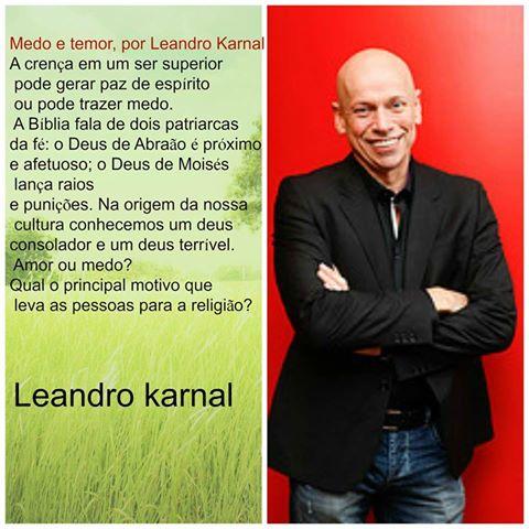 Filosofia E Tecnologia Cofrontando O Professor Leandro Karnal