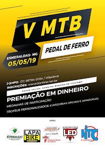 V MTB Pedal de Ferro / Esmeraldas MG / 05/05/2019
