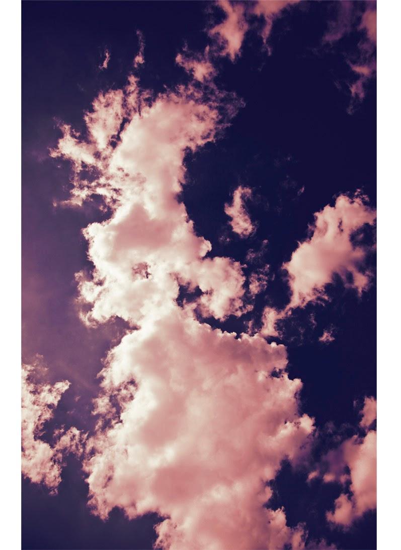 comme sur un nuage rose