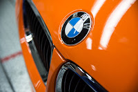 BMW M3 Coupe close up