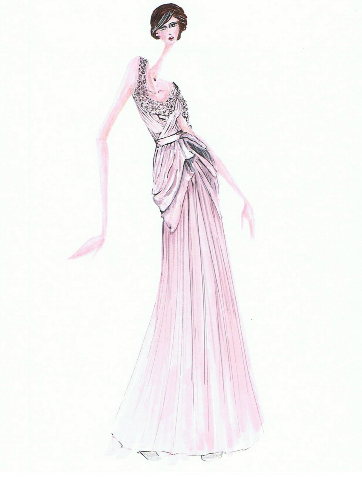 Miami S Fashionista Fashion Sketches