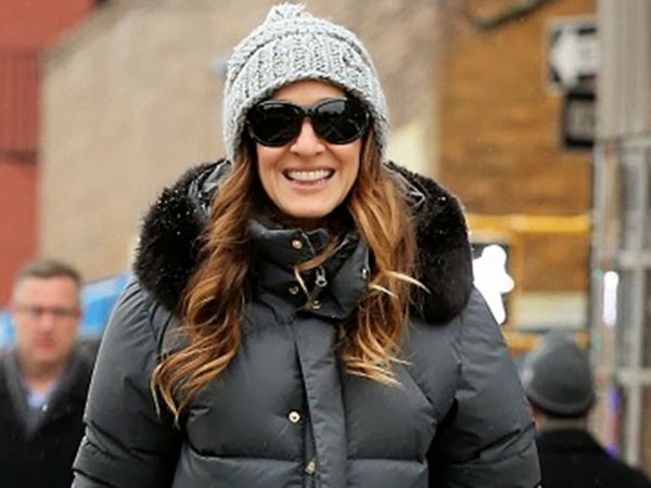 Dark Sunglasses Suit Sarah Jessica Parker Well