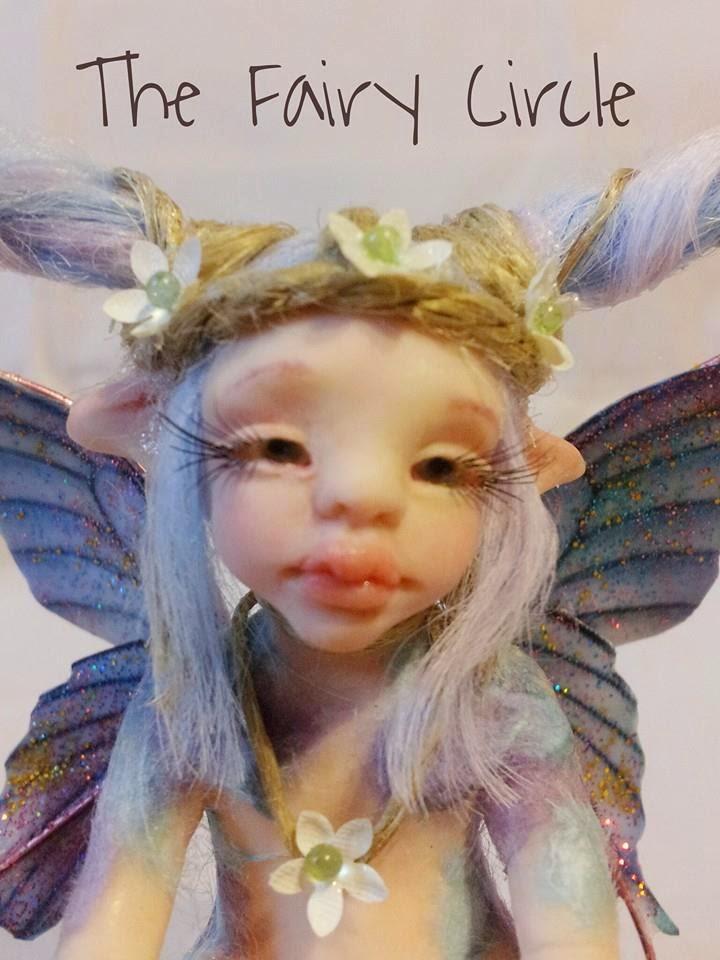 ooak fairy fata fatina baby fantasy prosculpt fimo cernit