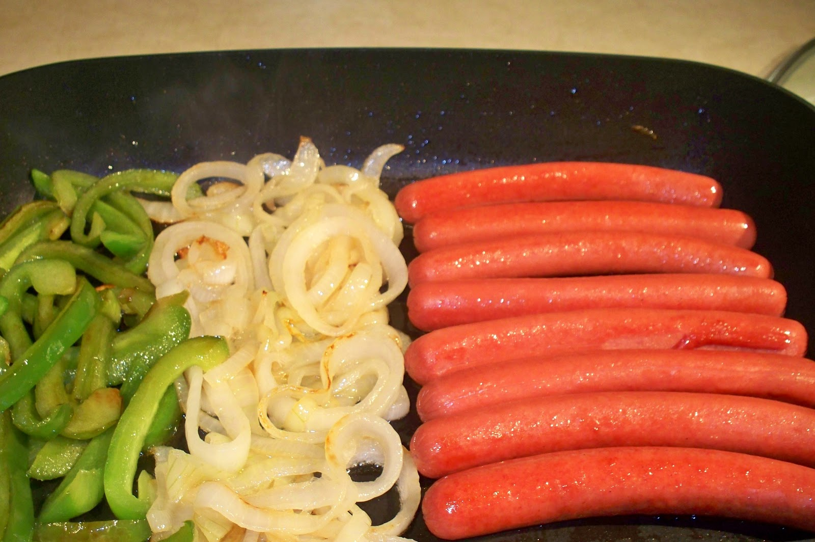 onions on hotdogs