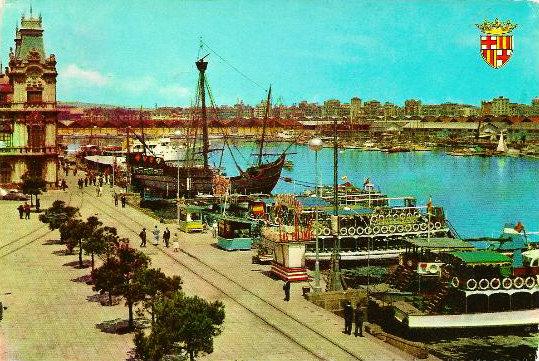 Quina la fem 471 postals colombines de 1963 - Taxi puerto de santa maria ...
