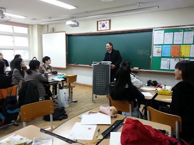 80 Hari di Korea : Hari 69 (Promote Sekolah di Wolam Middle School)