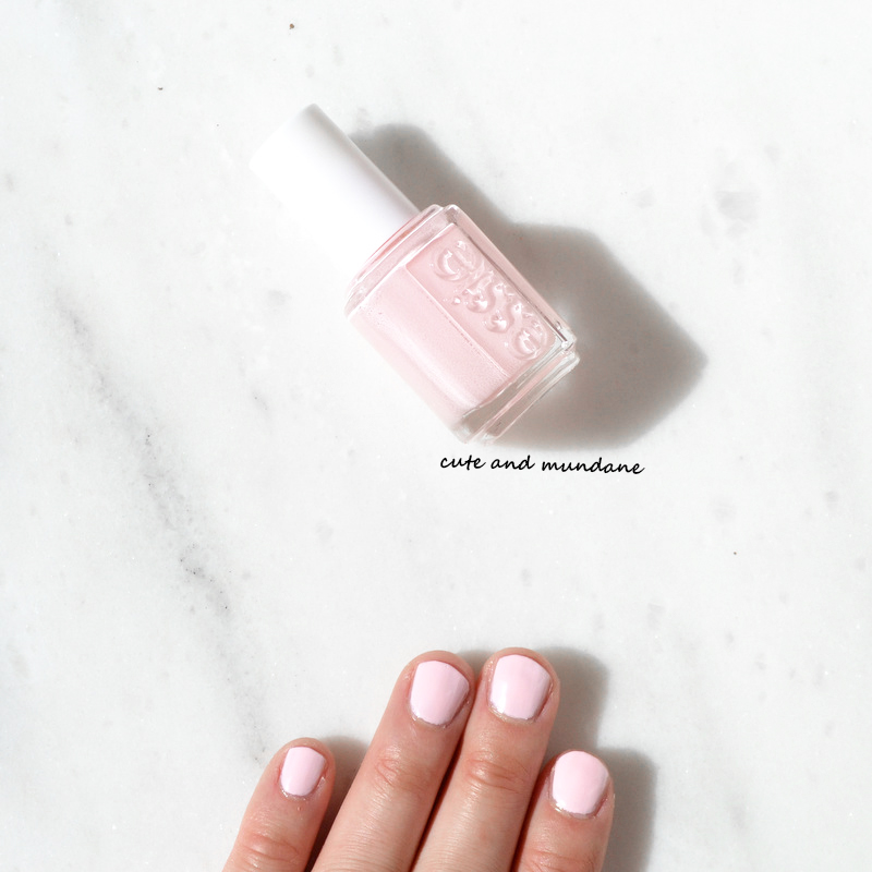 Cute and Mundane: Essie Fiji nail polish review + swatches