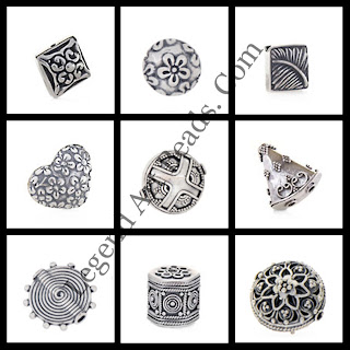 Attractive Sterling Silver Wholesale Crafetd Beads 2013