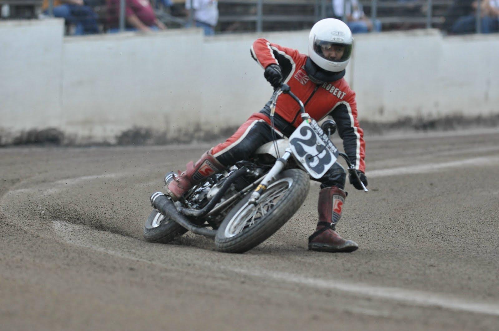 Vintage Flat Track Racing 83