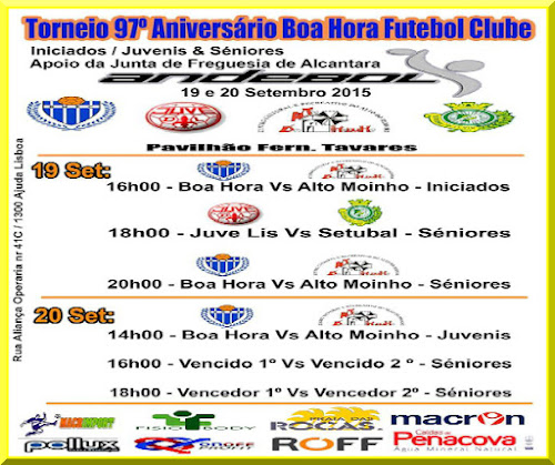 Andebol Boa Hora /ROFF realiza Torneio comemorativo do 97.º aniversário