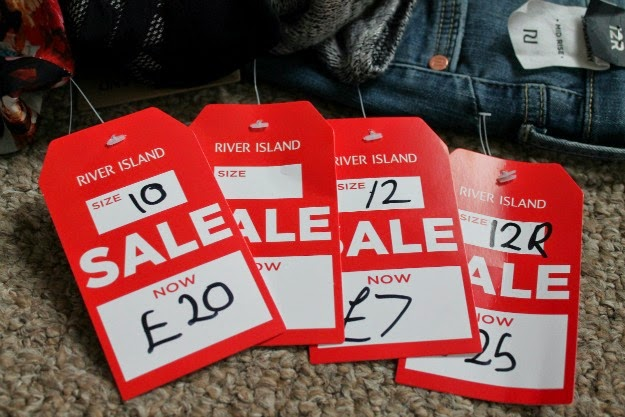 River Island sale purchases