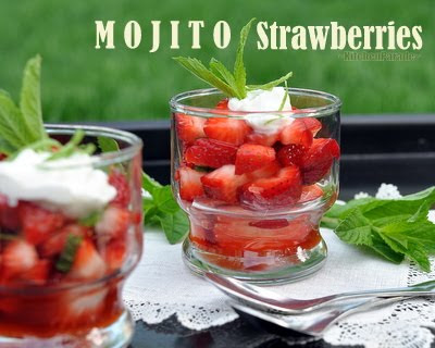Mojito Strawberries