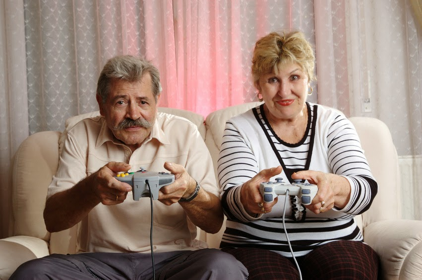 Teenager jealous because pensioners always have time to gamble and Facebook