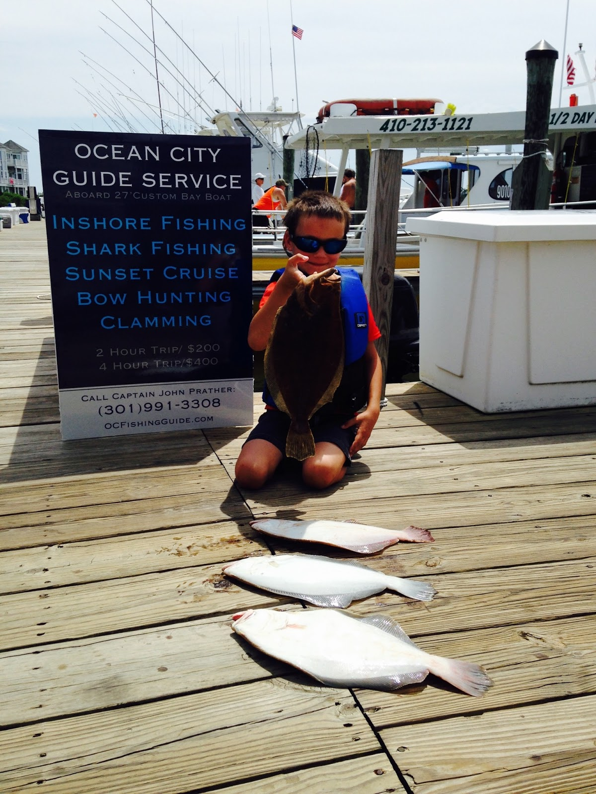 August 2 2015 daily reports news ocean city fishing for Ocean city fishing center