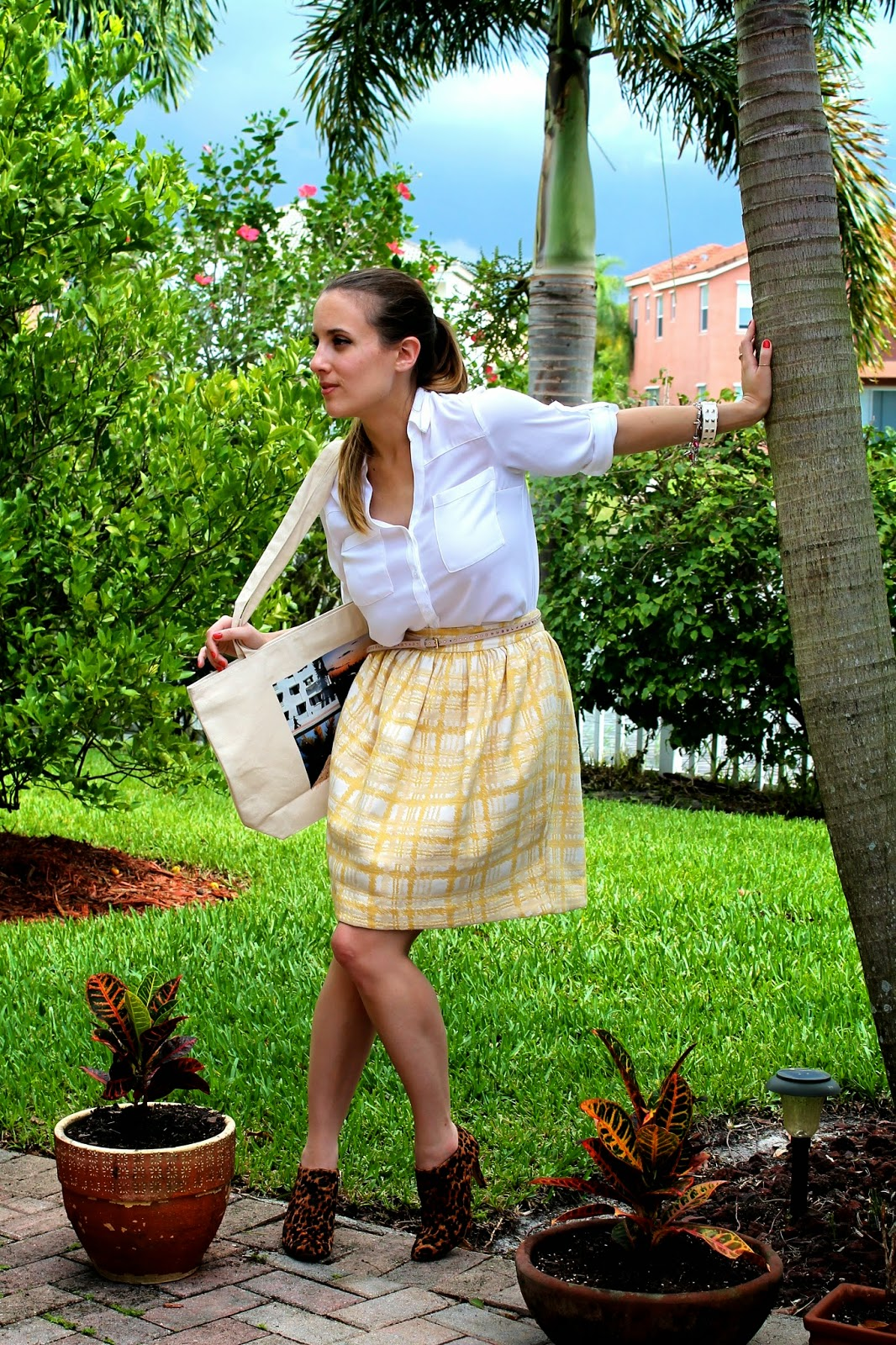 Gap, ASOS, Express, Nordstrom, Vince Camuto, J.Crew, prep, blogger style, patterns, what i wore, fashion blog, Miami fashion blogger, Miami blogger, street style