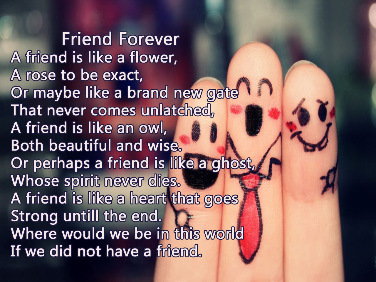 best friend poetry