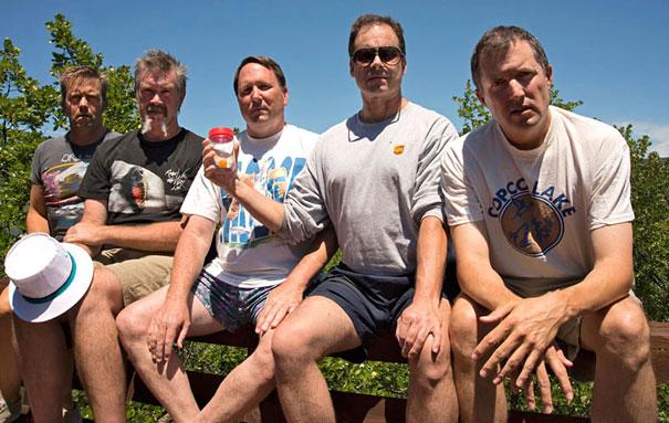 Ritual Foto 5 Tahunan oleh 5 sahabat