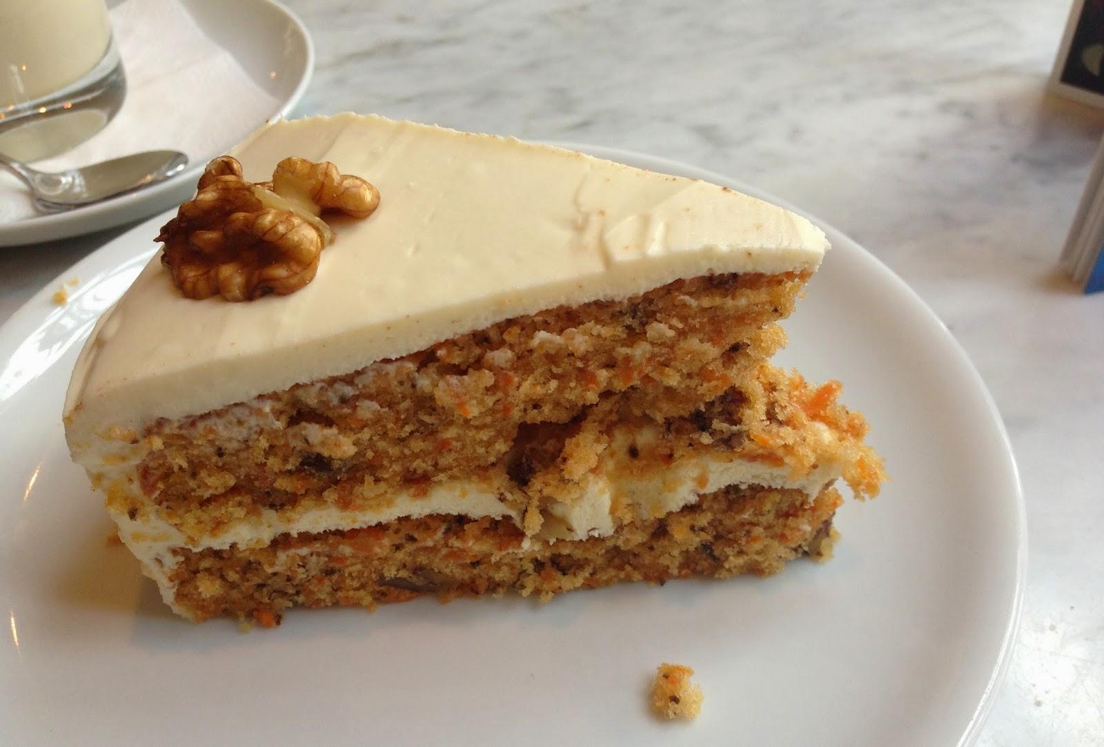 carrot cake café barcelona sandwichería postres magica barcelona dulces restaurantes merienda