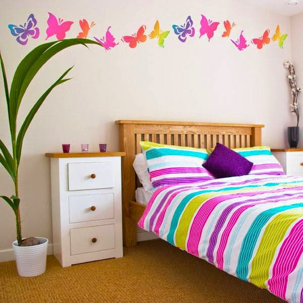 Awesome Butterfly Wall Decoration | Butterfly Themes For Interior ...