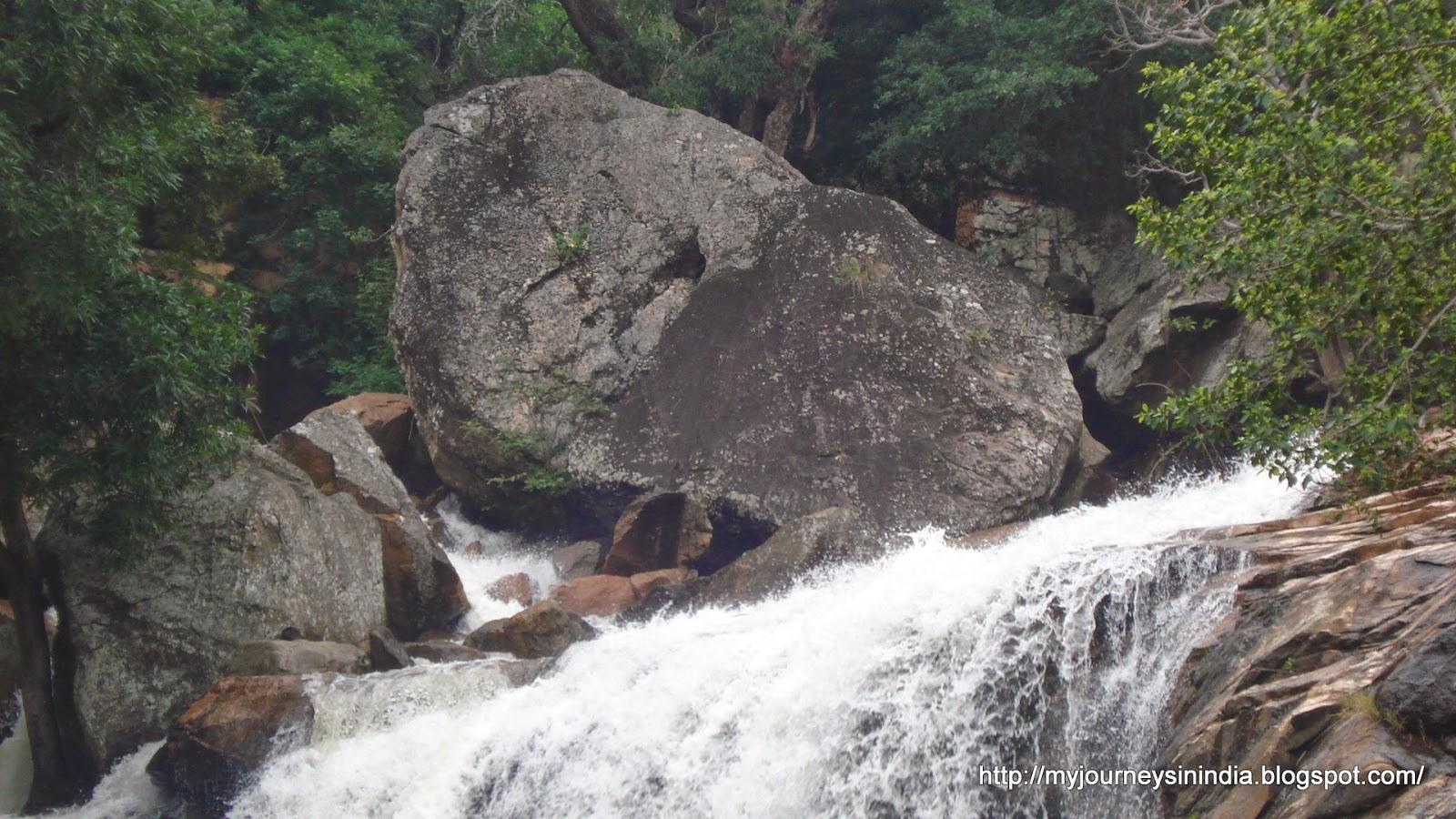 Thirumoorthy Falls