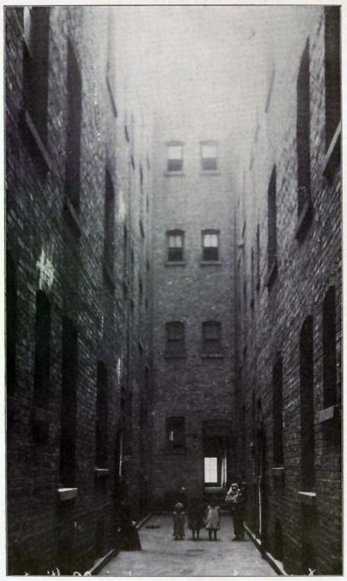 Chicago tenement alley