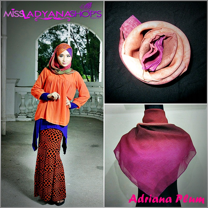 SOLD OUT: September Collections*NEW* Tudung Bawal Adriana