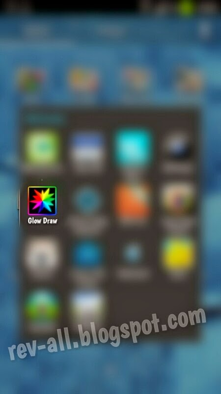 Ikon Glow Draw - Coret-coret dengan garis bercaya di Android (rev-all.blogspot.com)