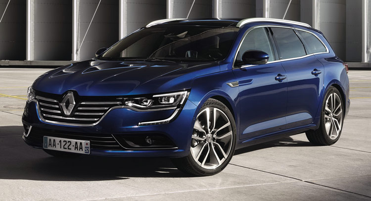 new renault talisman estate first official photos and details. Black Bedroom Furniture Sets. Home Design Ideas