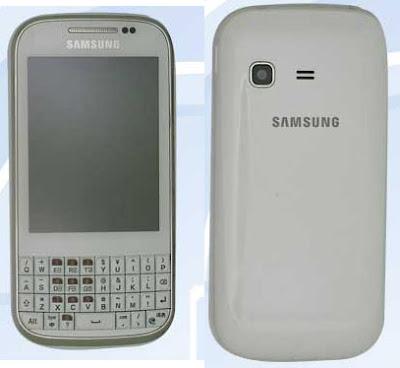 Samsung GT-B5330 ; características ICS, teclado QWERTY
