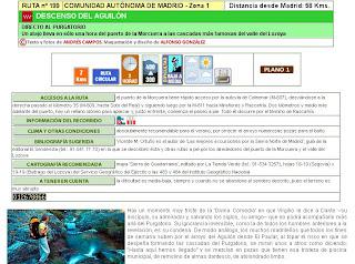 Ruta 199: Descenso del Aguilón. En la web excursionesysenderismo.com