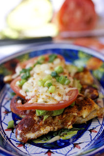 Paprika Chicken with Chile Sour Cream- simplelivingeating.com