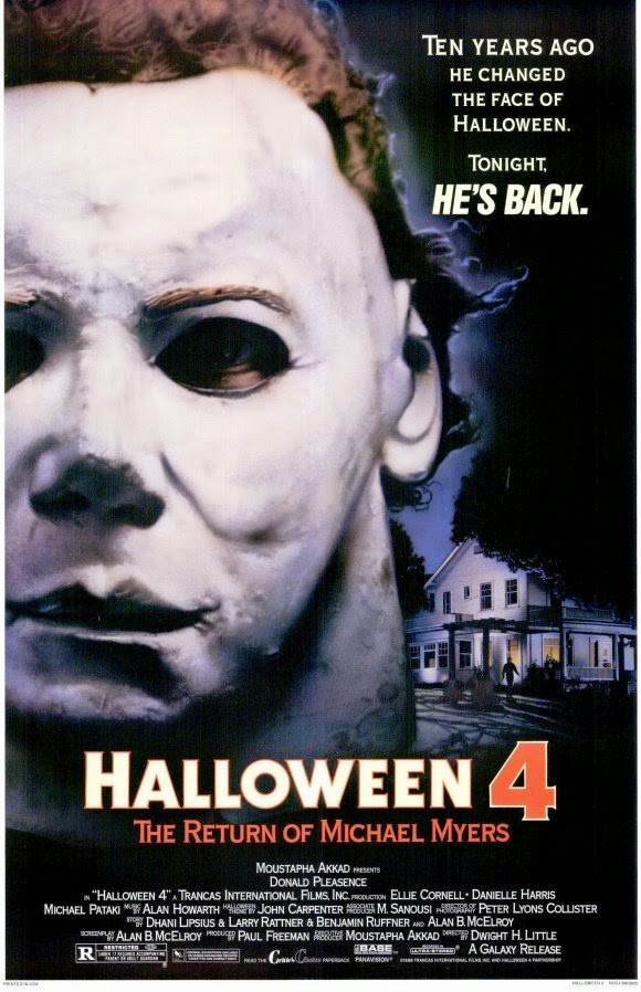 JD and Orchid's Domain : Movie Review: Halloween 4: The Return Of ...