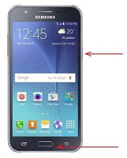 Screenshot Samsung Galaxy J5 Dengan Cara Sederhana