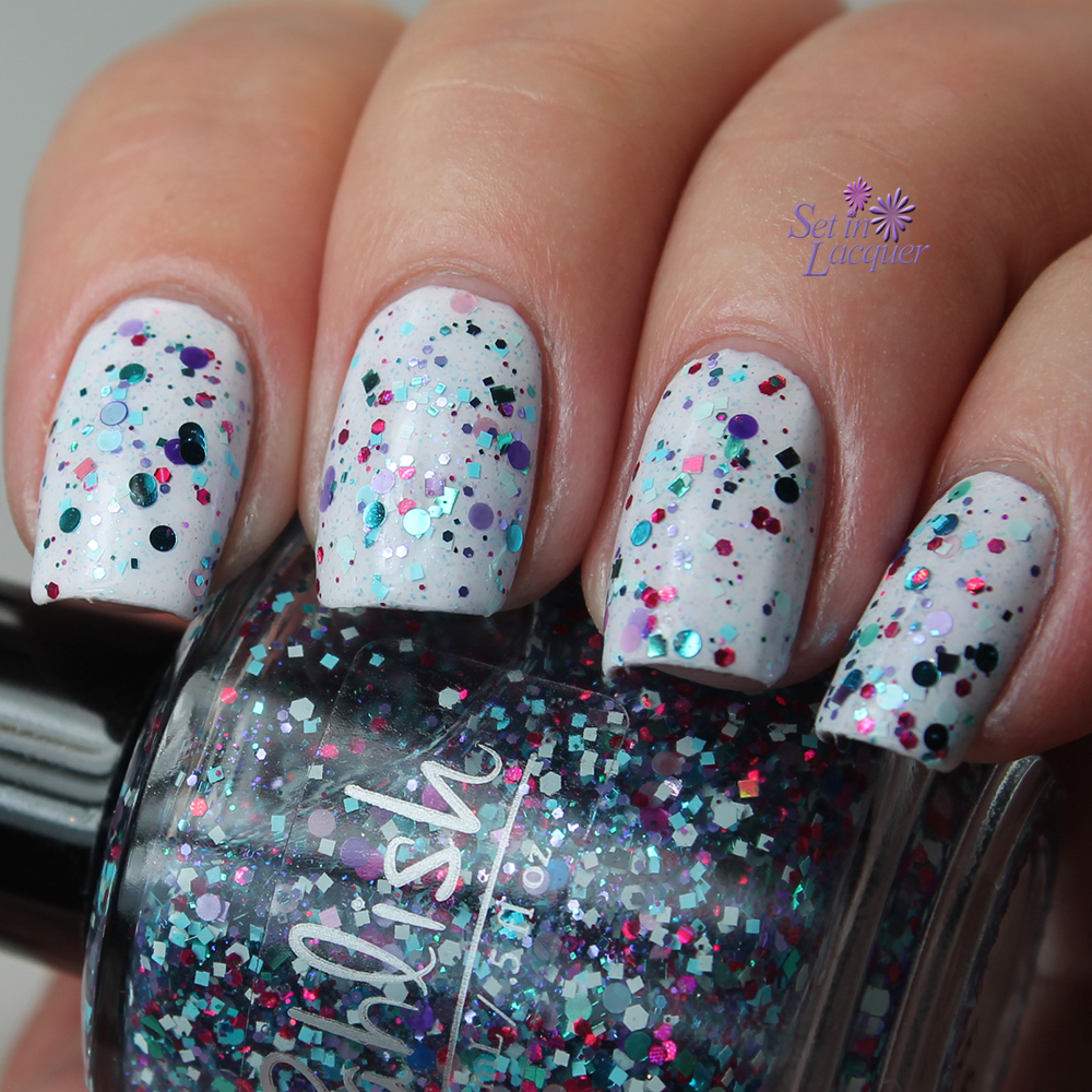 Pahlish March 2015 Duo - Confetti Cannon and Tissue Paper Flowers