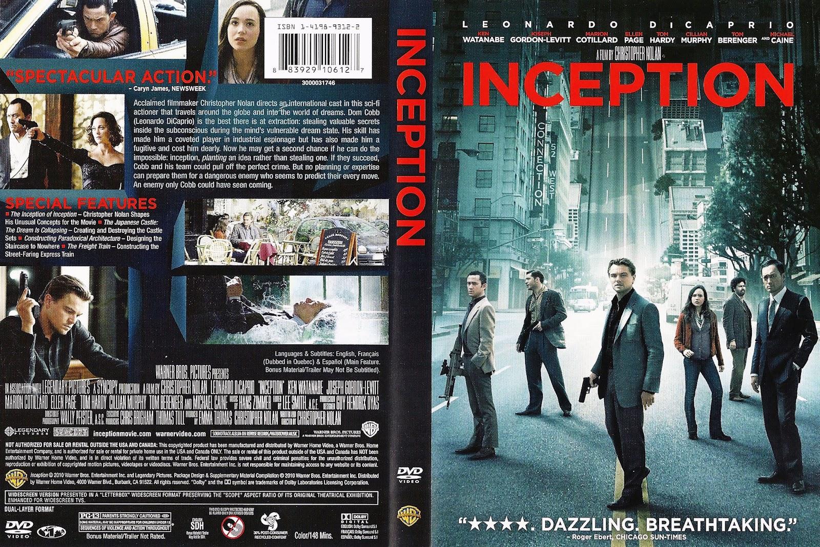Inception Dvd Cover Art Inception (2010) | Mov...