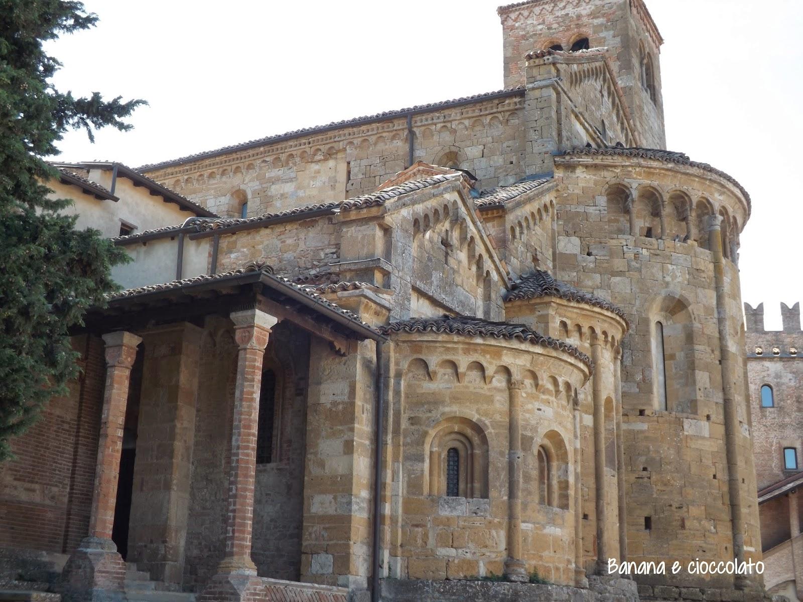 castell'arquato, Piacenza, banana e cioccolato blog